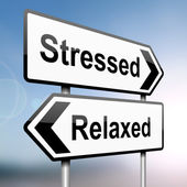 Stressed or relaxed. — Stock Photo