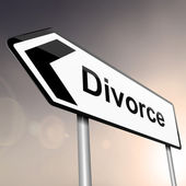 Divorce concept. — Stock Photo