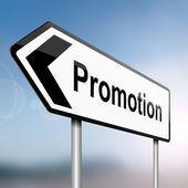 Job promotion concept. — Foto de Stock