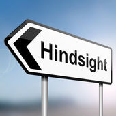 Hindsign concept. — Stock Photo