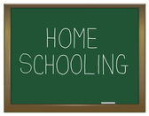 Homeschooling concept. — Stock Photo