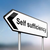 Self sufficiency. — Stock Photo
