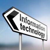 Information technology. — Stock Photo