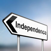 Independence. — Stock Photo
