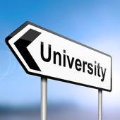 University concept. — Stock Photo