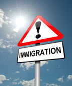 Immigration concept. — Stock Photo