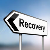 Recovery concept. — Stock Photo