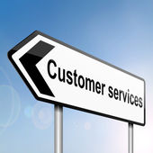 Customer services concept. — Stock Photo
