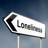 Loneliness — Zdjęcie stockowe