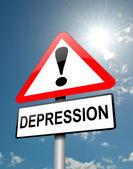 Depression concept. — Stock Photo