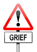 Grief concept. — Stock Photo