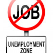 Unemployment concept. — Stock Photo