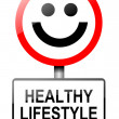 Healthy lifestyle concept. -  