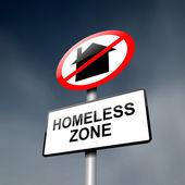 Homeless concept. — Stock Photo