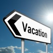 Time for a vacation. — Stock Photo