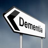 Dementia concept. — Stock Photo