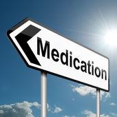 Medication concept. — Stock Photo