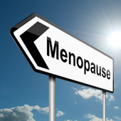 Menopause concept. — Stock Photo