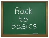 Back to basics. — Stock Photo