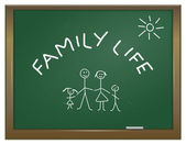 Family life concept. — Stock Photo
