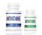 Antihistamine medication. — Stock Photo
