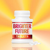 Brighter future concept. — Stock Photo