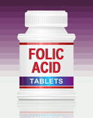 Folic acid. — Stock Photo
