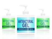 Antibacterial gel dispenser. — Stock Photo