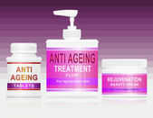Anti ageing concept. — Stock Photo