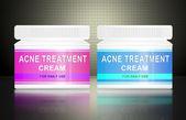 Acne cream. — Stock Photo