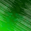 Green fiber optic abstract. - Stock Photo