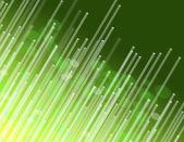 Fiber optic green abstract. — Stock Photo