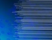 Blue fiber optic abstract. — Stock Photo
