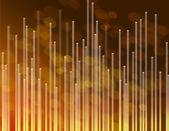 Golden telecommunications background. — Stock Photo