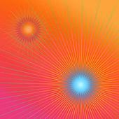 Vivid geometric abstract. — Stock Photo