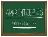 Apprenticeship cocept. — Stock Photo