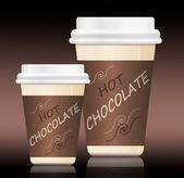 Horká čokoláda. — Stock fotografie