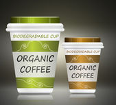 Environmentally friendly coffee. — Stock Photo