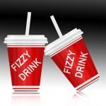 Fizzy drink. — Stock Photo #9642911