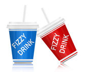Fizzy drink. — Stock Photo