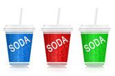 Soda take out. — Stock Photo