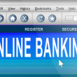 Online banking. — Stock Photo #9725521