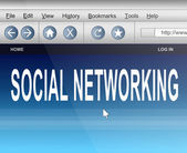 Social networking. — Stock Photo