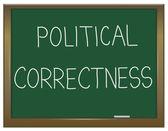 Political correctness concept. — Stock Photo