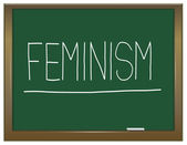 Feminism concept. — Stock Photo