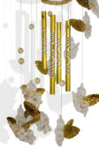 Wind chime with little angels — Stock Photo