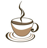 Icon of cup of coffee — Stock Vector