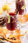 Refreshing fruit punch — Stock Photo