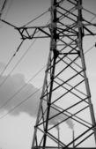 Electric pole — Stock Photo