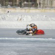 ������, ������: Speedway on ice turn on a motorcycle